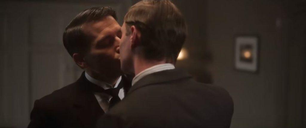 Downton Abbey - the kiss